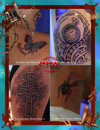 Tattoo,butterfly,3d,cross,spider,realistic,watch,polynesian,letters,image,body,art,studio,station,cyprus,eu