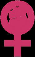 Woman-power emblem