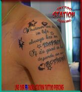 Tattoo,stars,letters,heart,3d,best,body artist,photo,images,studio,station,cyprus,eu,