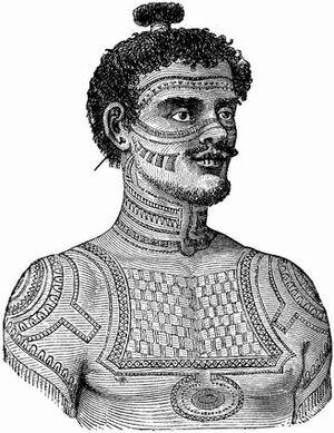 Tattoo history pic of tribal man.jpeg