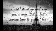 Taylor Swift - Come in With the Rain Lyrics