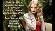 White Horse by Taylor Swift (Lyrics)