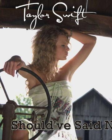 Should Ve Said No Taylor Swift Wiki Fandom
