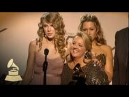 Taylor Swift accepting the GRAMMY for Best Country Song - GRAMMYs