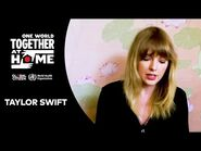 """Taylor Swift performs """"Soon You'll Get Better"""" - One World- Together At Home"""