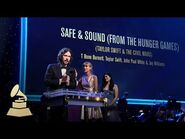 Taylor Swift, T-Bone Burnette, and Civil Wars at the 55th Annual GRAMMY Awards Pre-Telecast Ceremony