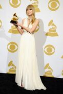 2013 Grammys Taylor Swift