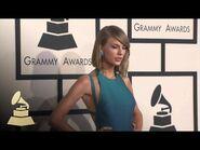 Taylor Swift At GRAMMY Fashion Cam - GRAMMYs