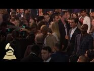 Taylor Swift & Pharrell Williams - Audience Cam - 58th GRAMMYs