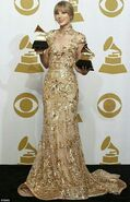 2012 Grammys Taylor Swift