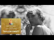 Taylor Swift Talks Backstage At The 63rd GRAMMY Awards