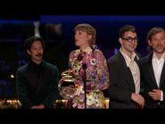 Taylor Swift Wins Album Of The Year - 2021 GRAMMY Awards Show Acceptance Speech