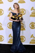 2010 Grammys Taylor Swift