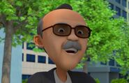 Tayo the little bus professor