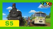 Tayo S5 Special Episode l When Steam Train Visits the Little Buses l Tayo the Little Bus