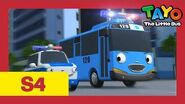 Tayo S4 EP8 l Tayo becomes a police officer l Tayo the Little Bus l Season 4 Episode 8