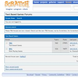 Scratch Text Based Games Forums