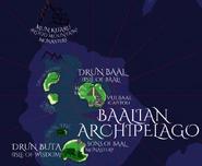 Baalian Archipelago map