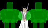Crystal samurai