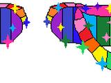 The Rainbow Slippers
