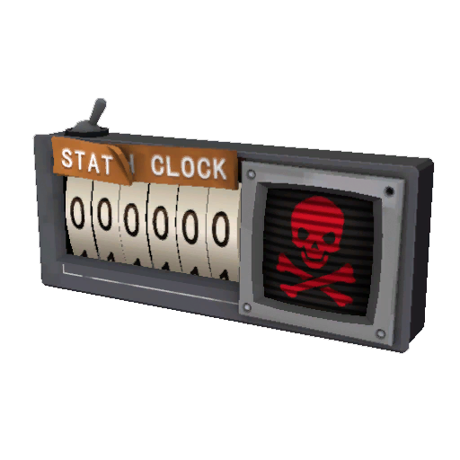 Civilian Grade Stat Clock