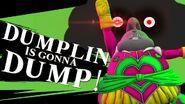 Demon God Dumplin Super Smash Bros. Melee Brawl 4 3DS Wii U Ultimate TFS Team Four Star Dragon Ball Xenoverse XV1