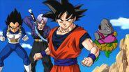Dumplin tfs teamfourstar Goku Vegeta and Future Trunks