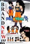 Ranch and Raditz turned good Shintani inspired character design sheets Dragon Ball R&R Z Abridged MasakoX TFS Team Four Star
