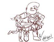 Dumplin and kid Puddin teamfourstar tfs