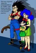 What if week What if Raditz turned good story Radditz Lunch Ranch Dragon Ball Z Abridged MasakoX TFS Team Four Star