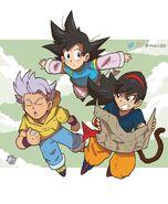 Phil Vazquez Ranch Trunks Goten Dragon Ball R&R MasakoX Team Four Star TFS