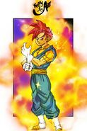 Super Saiyan Red Paata Tahts Ass of Destruction MasakoX TFS Team Four Star Dragon Ball Xenoverse 2 XV2