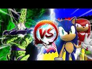 Cell Vs Sonic & Knuckles -CellGames - TeamFourStar