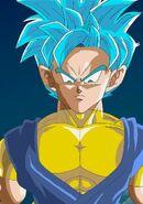 Paata Tahts as a Super Saiyan Blue MasakoX TFS Team Four Star Dragon Ball Xenoverse 2 XV2