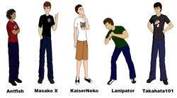 TeamFourStar cast.jpg