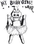 Dumplin's baby girl Puddin TFS Team Four Star Dragon Ball Xenoverse 2 DonKsx-U0AAoNsX