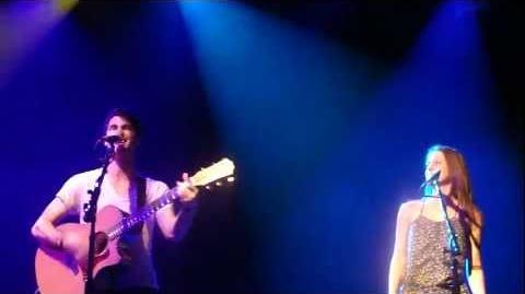 Lauren Lopez & Darren Criss - Granger Danger @ Irving Plaza, NY 6 15 11