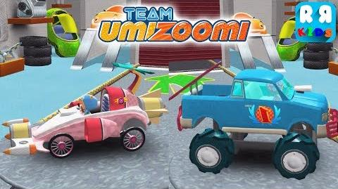Team Umizoomi Math Racer - Best Apps for Kids Geo WithTurbo Car vs Milli Jeep Car