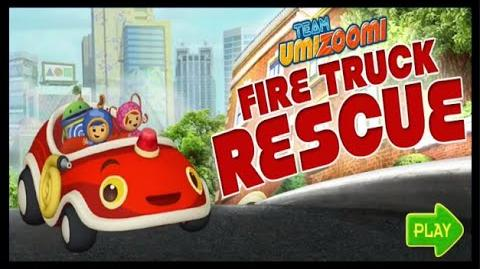 Team Umizoomi Umi City Mighty Missions - Fire Truck Rescue - Preschool Education Game Movie HD