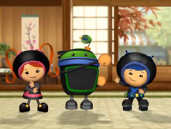Ninja pose