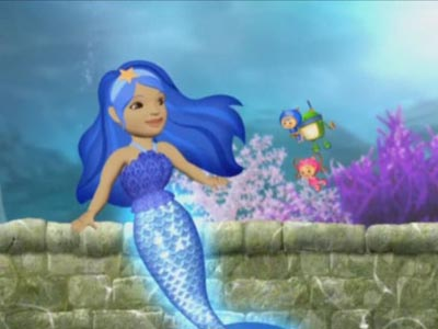 The Legend of the Blue Mermaid