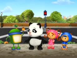 Team Umizoomi with Little Joe