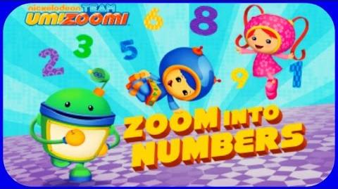 ♡ Team Umizoomi Math Zoom Into Numbers Educational App for Toddler By Nickelodeon