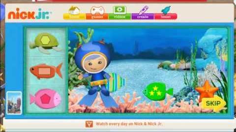 Team Umi Zumi's Aquarium Adventure Screencast