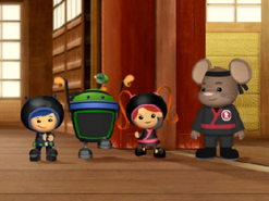 Ninja umizoomi and doormouse