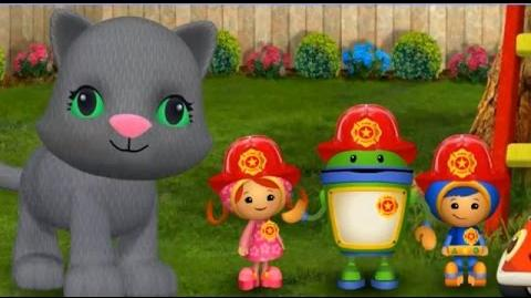 Team UmiZoomi Umi City Mighty Missions - Fire Truck Rescue. Toys Kids