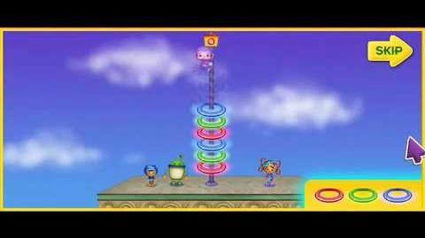Team UmiZoomi Purple Monkey Rescue - Game