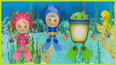 Team Umizoomi Aquarium Adventure - Team Umizoomi Games - Nick Jr