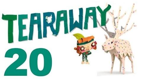 Tearaway PS VITA - 1080P - Let's Play - Part 20 - Just Keep Rolling!