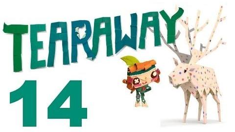 Tearaway PS VITA - 1080P - Let's Play - Part 14 - Weaponized Squeezebox!